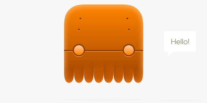 Octobot looks a bit square for a squid